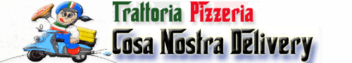 Food Delivery in Phuket with Us: Trattoria Pizzeria Cosa Nostra Delivery